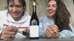 Mila Kunis And Ashton Kutcher Launch Quarantine Wine!