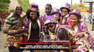 actress queeneth agbor excited to have nollywood actors in her state for the calabar festival