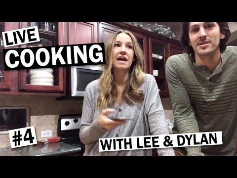 LIVE: Cooking with Lee & Dylan #4 – Cauliflower Pizza's, Wine & Old Fashions