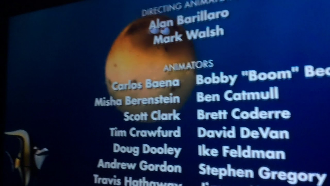 Bloat In Finding Nemo End Credits Part 1 - YouTube