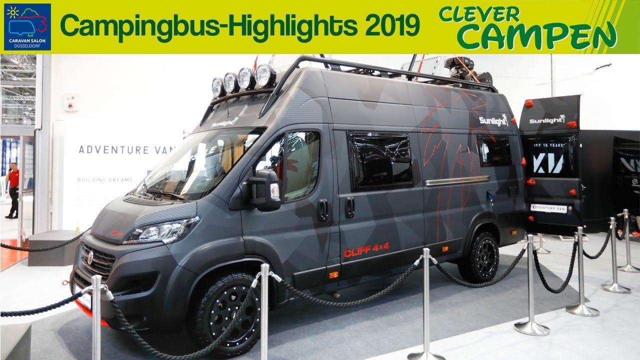 Die Campingbus-Highlights des Caravan Salons Düsseldorf 9  Clever Campen