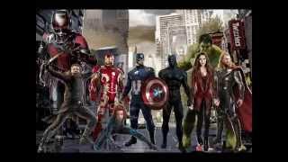 Os Vingadores os Super Heróis mais poderosos da terra abertura (Modo Filme)