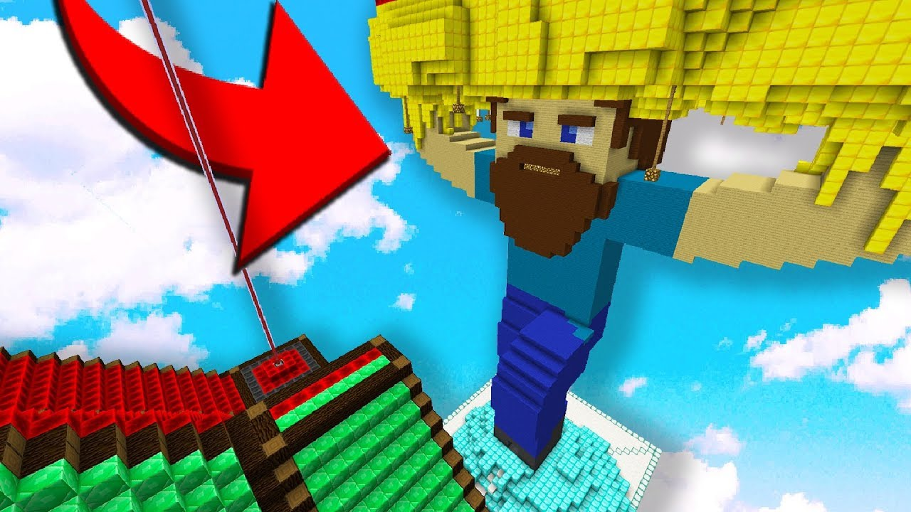 THE BEST MiNECRAFT BUiLD EVER MADE ON MY SKYBLOCK iSLAND!!