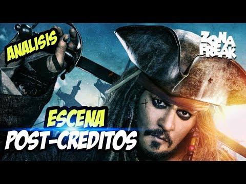 Análisis de Escena Post Créditos - Piratas del Caribe 5 | Zona Freak