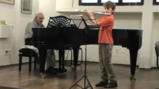 F. J. Gossec. Tambourin. Dmitri Krasnovsky (Flute)