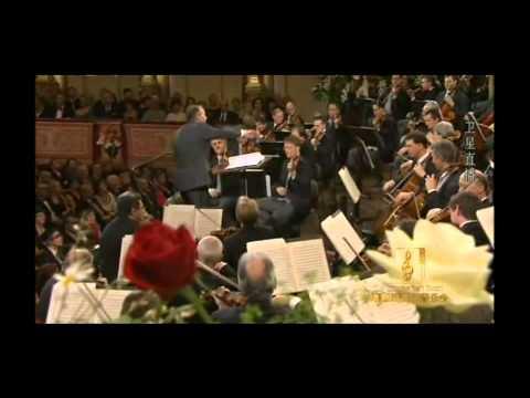 The Blue Danube - 2012 Wiener Philharmoniker New Year Concert