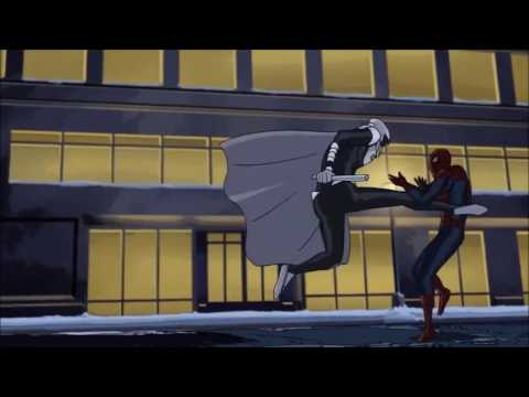 Moon Knight Vs Spiderman Scene from ultimate spider man