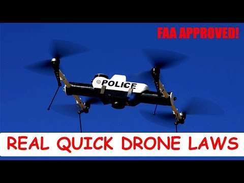 Drone Laws 2018: REAL QUICK TIPS!