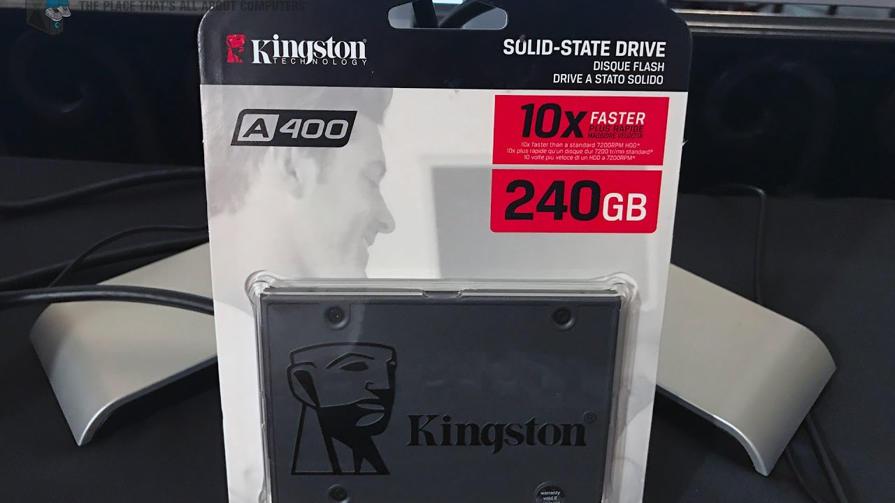 Kingston's A400 SSD is A Great Replacement For Your Hard Drive