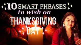 How to say Thank You on Thanksgiving Day | Happy Thanksgiving 2020 | How to say Happy Thanksgiving