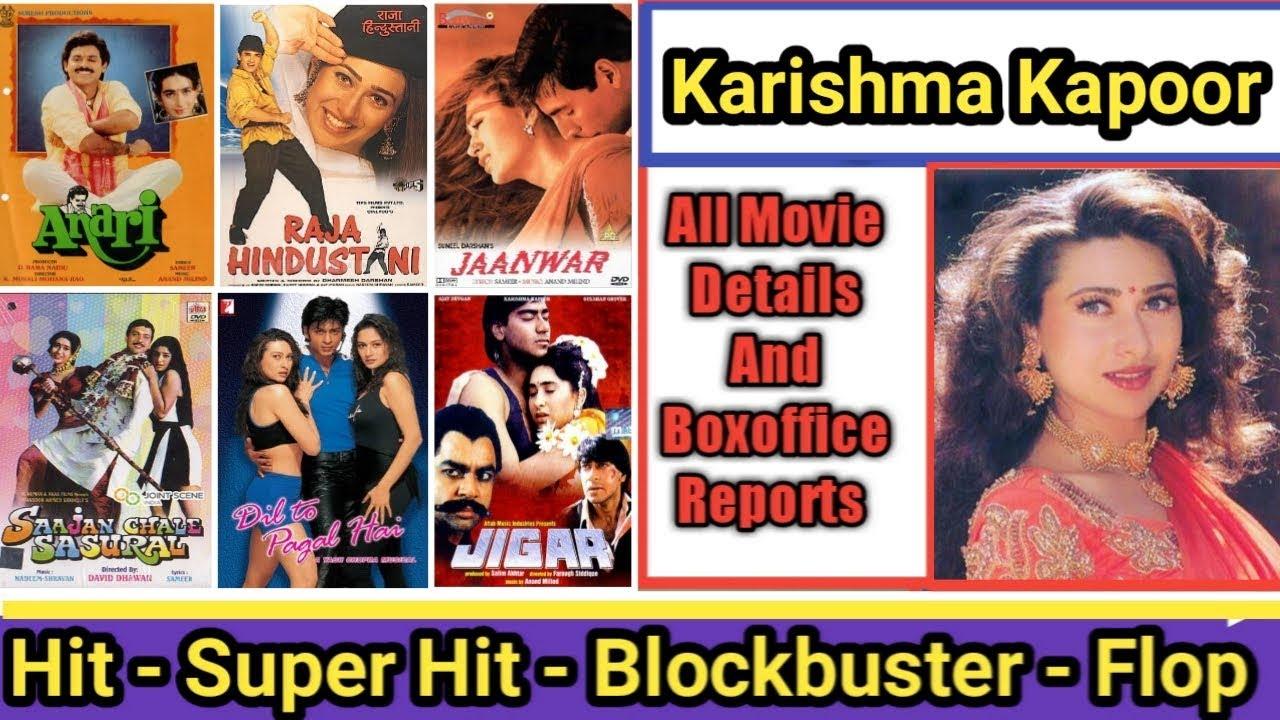 Karishma Kapoor Box Office Collection Analysis Hit And ...