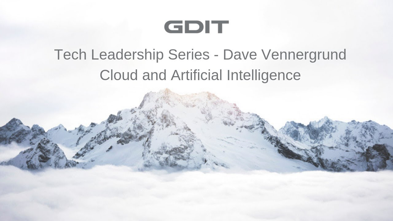 Government Matters Recap: Dave Vennergrund, Director, AI, Data & Analytics,  GDIT