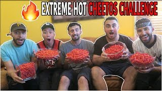 EXTREME HOT CHEETOS CHALLENGE!