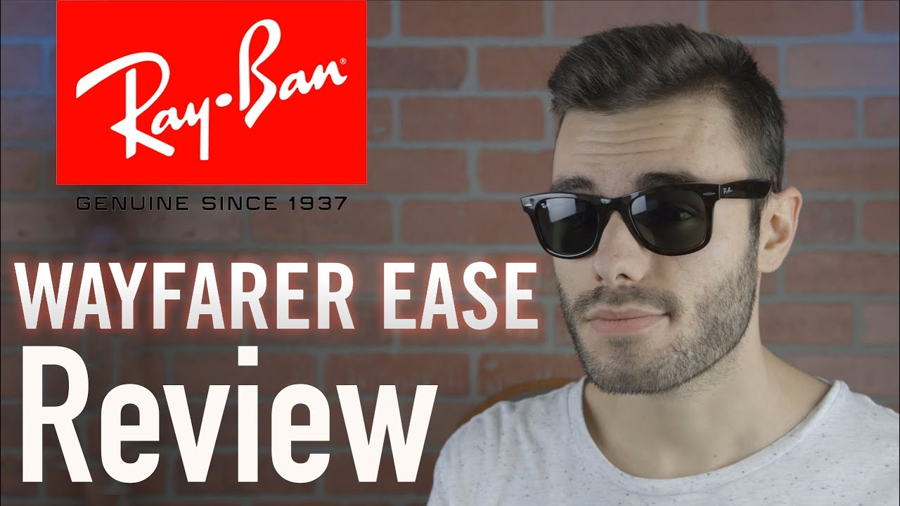 5306661be Ray-Ban Wayfarer Ease Review - YouTube