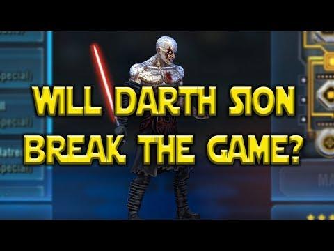 Will Darth Sion Break The Game/Meta? Kit Reveal - Visas Marr | Star Wars: Galaxy Of Heroes - SWGOH