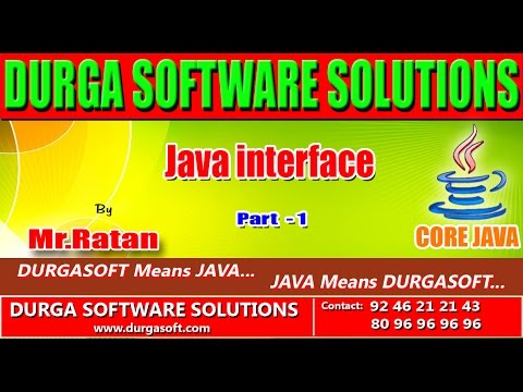 Corejava ||  interface patr -1