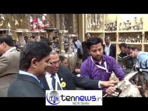 Ceo Gr Noida Auth Rakesh Kumar At Indian Handicrafts Gifts Fair