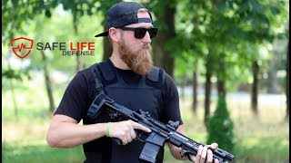Wearing a bulletproof vest for 72+ hours straight! | Safe Life Defense