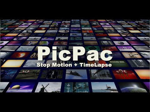 PicPac Stop Motion and TimeLapse Demo (short version)