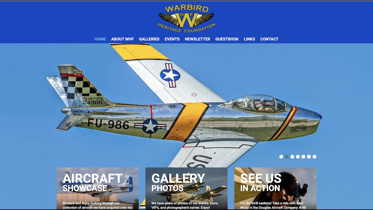 Talking Warbirds with Paul Wood of the Warbird Heritage Foundation