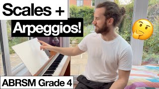 Scales + Arpeggios Grade 4 ABRSM   Adult Piano Progress