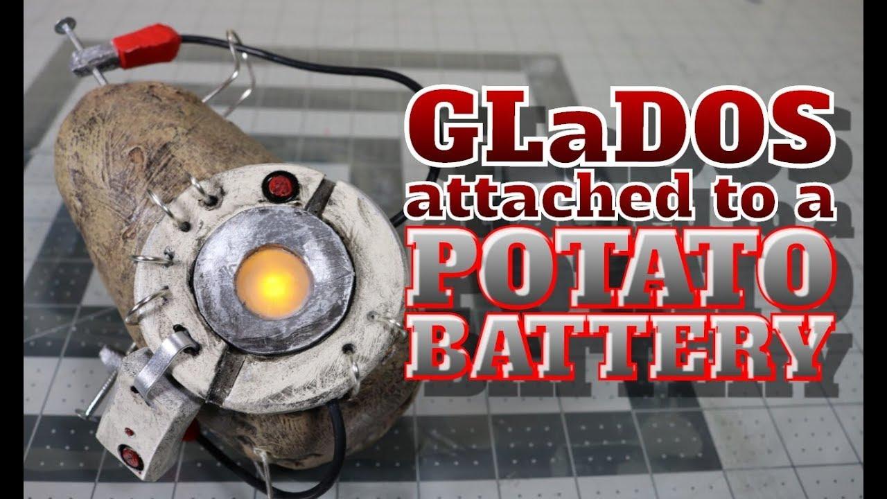 Potato Glados From Portal 2