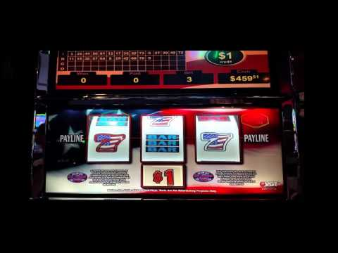 spangled sevens slot machine