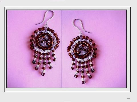 Diy how to crochet chandelier earrings jewelry making beaded diy how to crochet chandelier earrings jewelry making beaded earrings youtube aloadofball Image collections