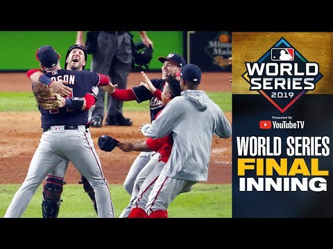 Full Final Inning As Nationals Close Out Game 7 To Win World Series