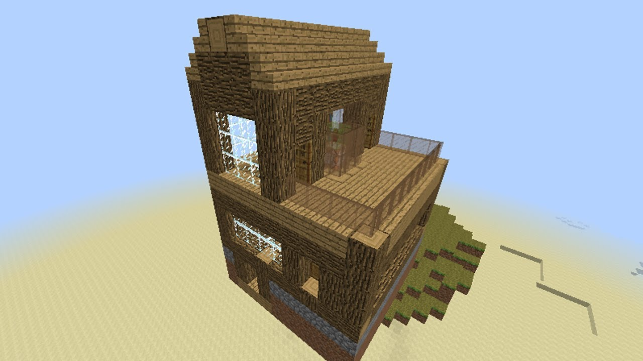 Minecraft Command Block - Flying House