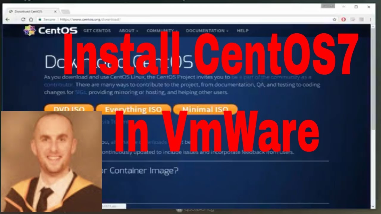 Install Centos 7 On VMware Workstation 12
