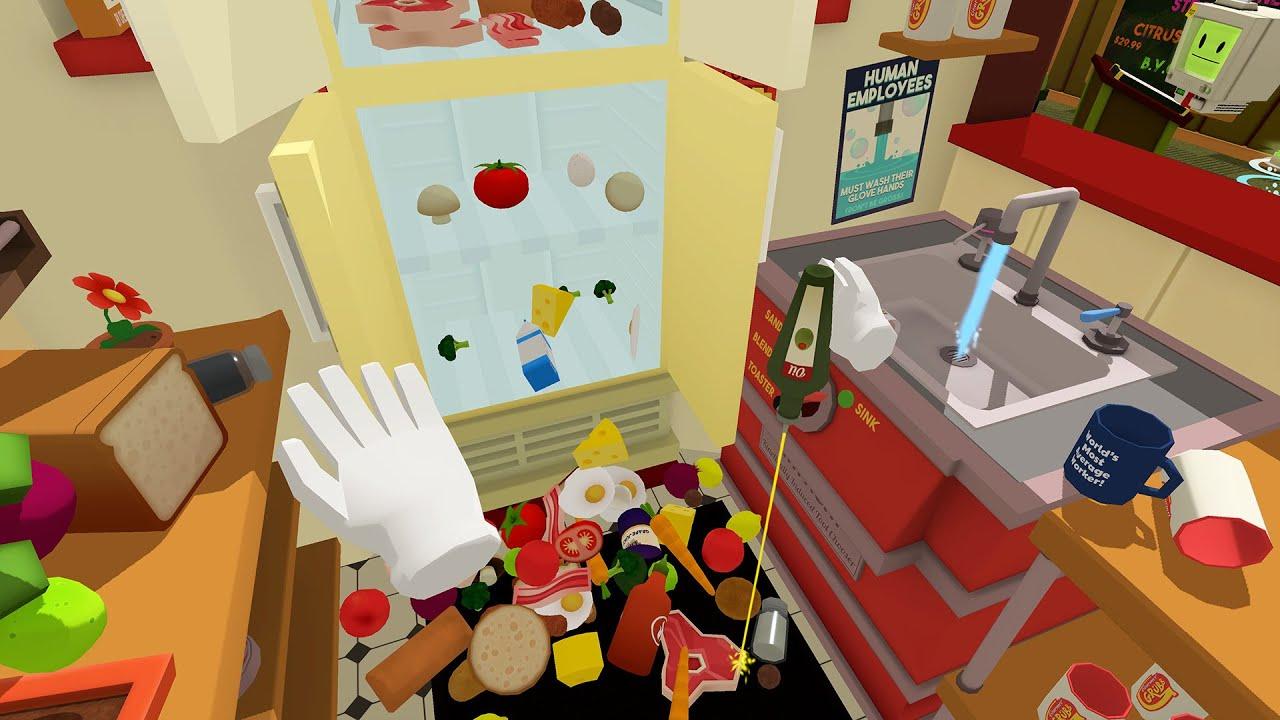 Job Simulator Gameplay Gourmet Chef Htc Vive Youtube