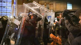 video: Exclusive: Right-wing protests 'more likely to be criticised because of liberal biases'