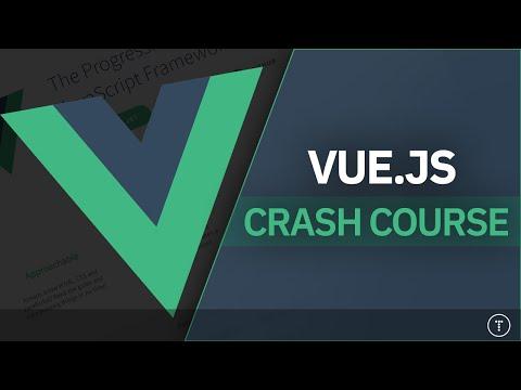Vue JS Crash Course 2021