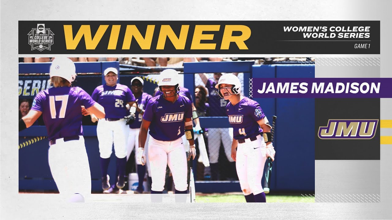 James Madison softball upsets No. 1 Oklahoma in first-ever ...