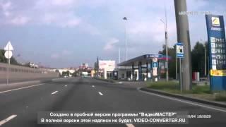Смотреть видео Авария ДТП Санкт Петербург Приморское шоссе 4 08 2013  HD онлайн