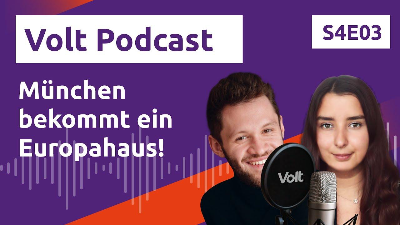 YouTube: München bekommt ein Europahaus! - Wer macht Politik für die Zukunft? - Hochspannung Podcast