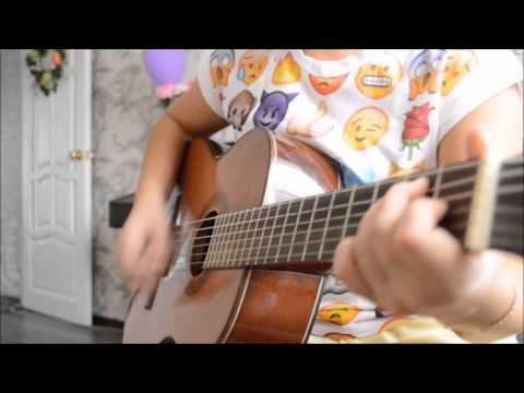 One Direction - Girl Almighty (guitar cover by swaggyglice)