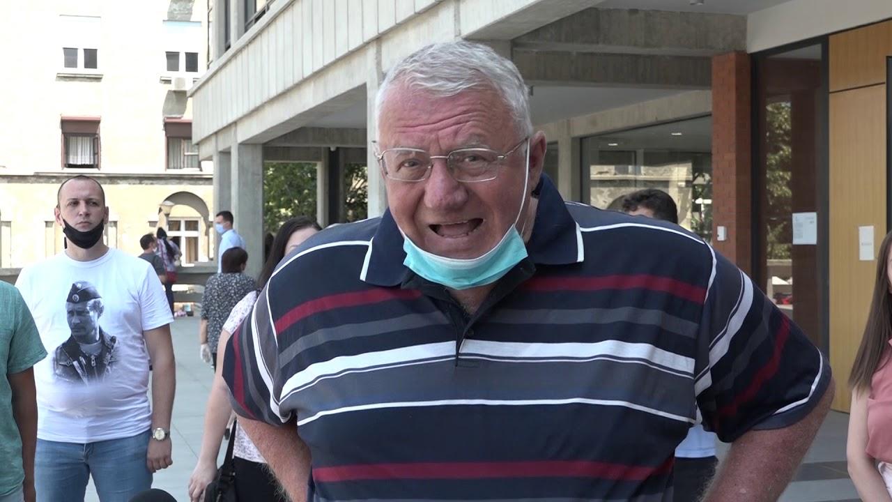 Šešelj odbio da se izjasni o krivičnoj prijavi Aleksandre Jerkov. Jedva čeka suđenje.