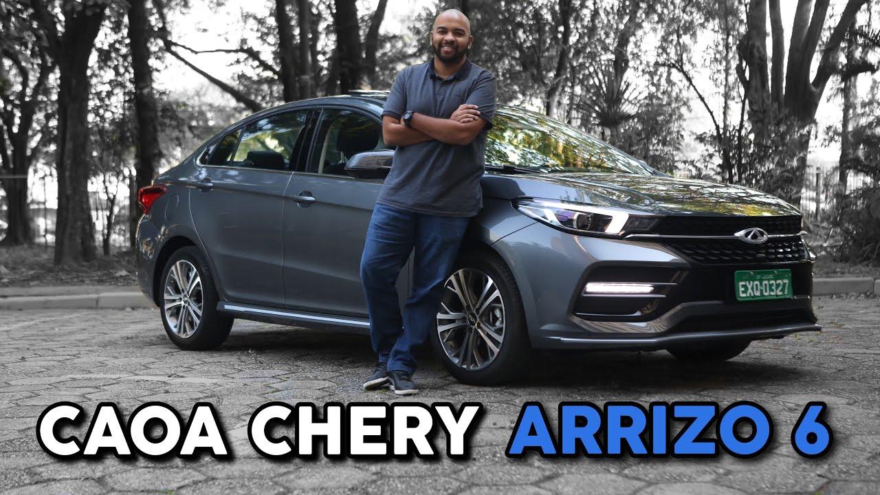 TESTE: CAOA CHERY ARRIZO 6 PODE BRIGAR COM COROLLA E CIVIC?