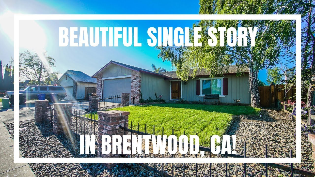 Pristine Single Story Home in Brentwood For Sale - 23 Briarwood Ct Brentwood CA 94513