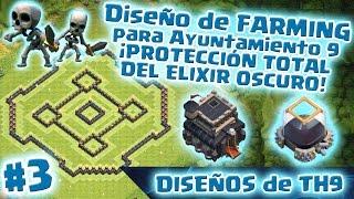 ¡NUEVO DISEÑO FARMING DE AYUNTAMIENTO 9!   ELIXIR OSCURO BLINDADO   A PROTEGER RECURSOS