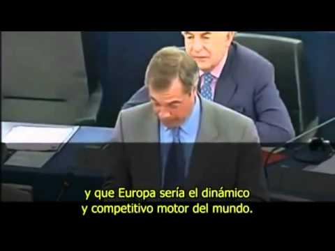 Nigel Farage: Sobre el Rescate a España. Subtitulado