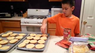 Cooking With Matt- Mini Bagel Pizzas