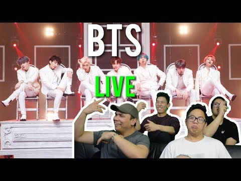 BTS - DIONYSUS X BOY WITH LUV LIVE (Reactions)