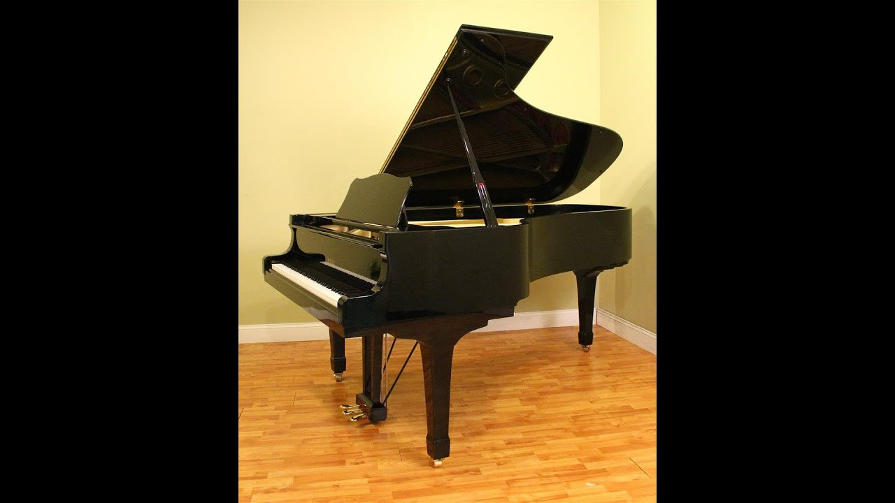 for sale yamaha c7 grand piano reconditioned youtube. Black Bedroom Furniture Sets. Home Design Ideas
