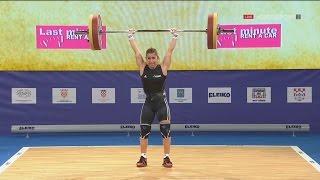 2017 European Weightlifting Championships Women 48 kg \ Тяжелая атлетика Чемпионат Европы [1080]