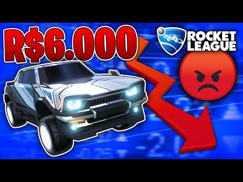 6.000 REAIS: O ROCKET LEAGUE DESTRUIU A MINHA VIDA (nunca mais faço isso dnv)