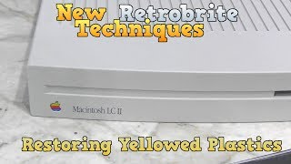 Adventures in Retrobrite - New techniques for restoring yellowed plastic! thumbnail