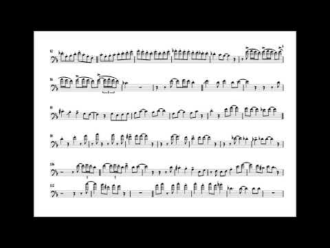 JJ Johnson 'Just Friends' Trombone Solo Transcription